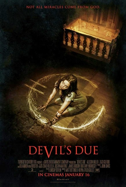 """""""Devil's Due (2014)"""" movie review by Kinudang Bagaskoro"""