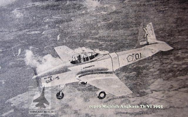 Sikumbang Pesawat Pengintai Ringan Bersenjata Buatan Nurtanio