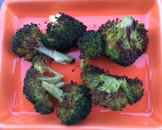 Roasted Broccoli from Top Ate on Your Plate