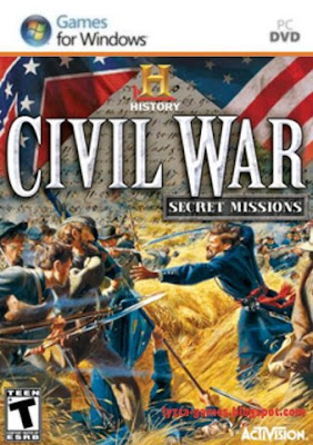 History Channel Civil War: Secret Missions PC Cover