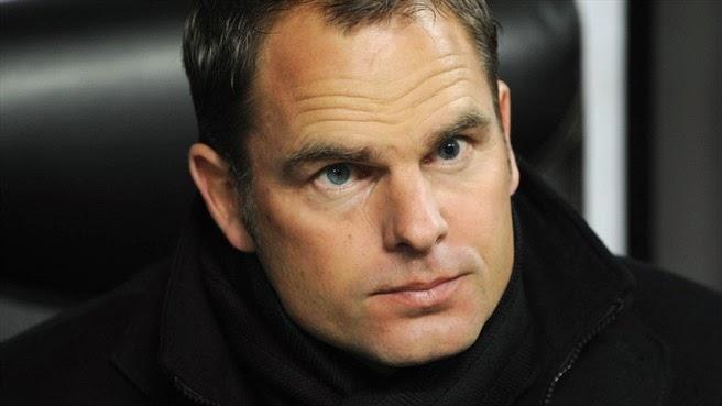 Has Frank de Boer met Levy this week?