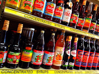 Our Wonderful selection of Natural Syrups at Pars Market Columbia Maryland 21045