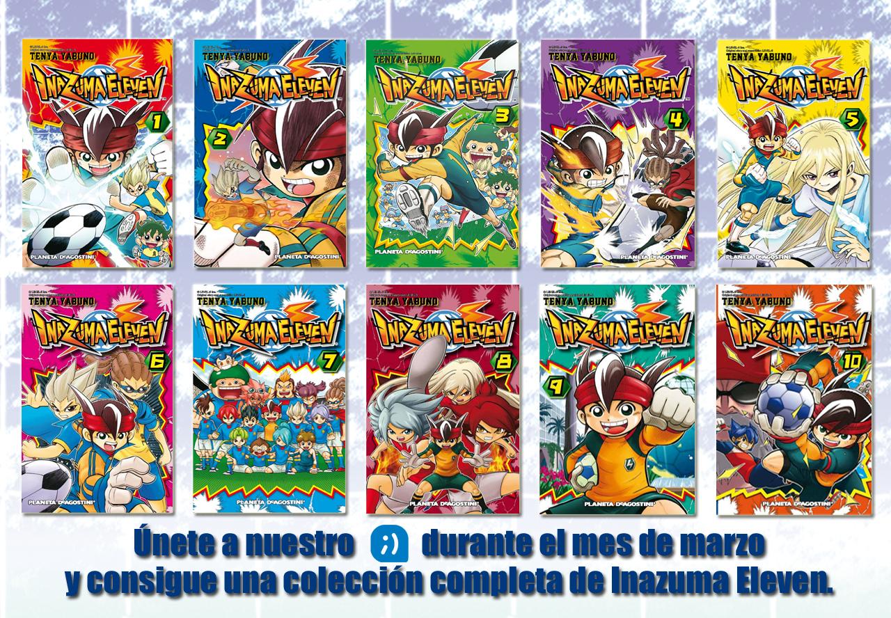 Gana una colección completa de Inazuma Eleven