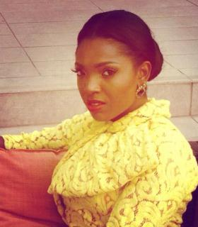 Annie Idibia Glows as husband is the finest man Alive(Tuface)