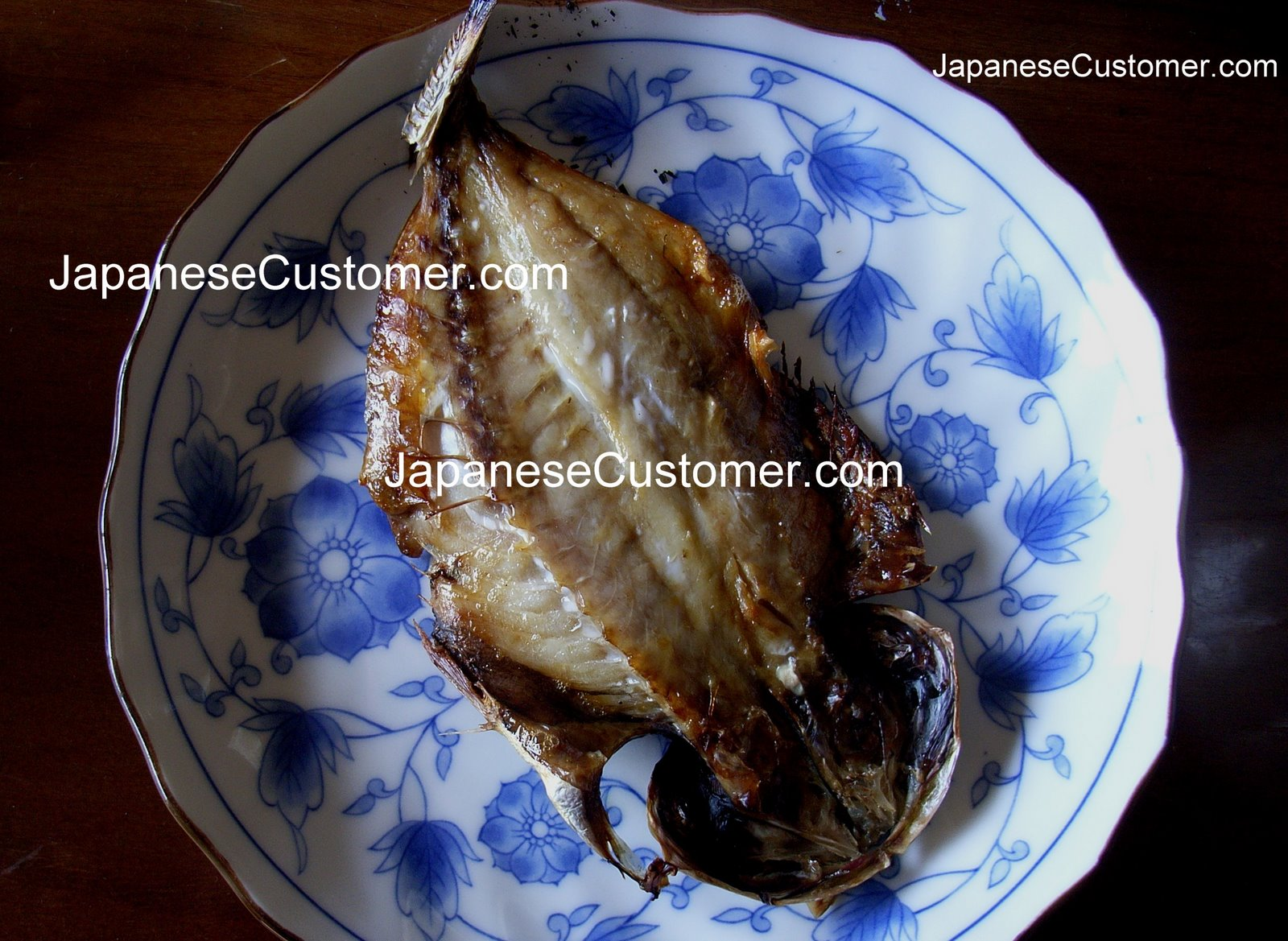 Grilled fish for breakfast, Japan Copyright Peter Hanami 2014