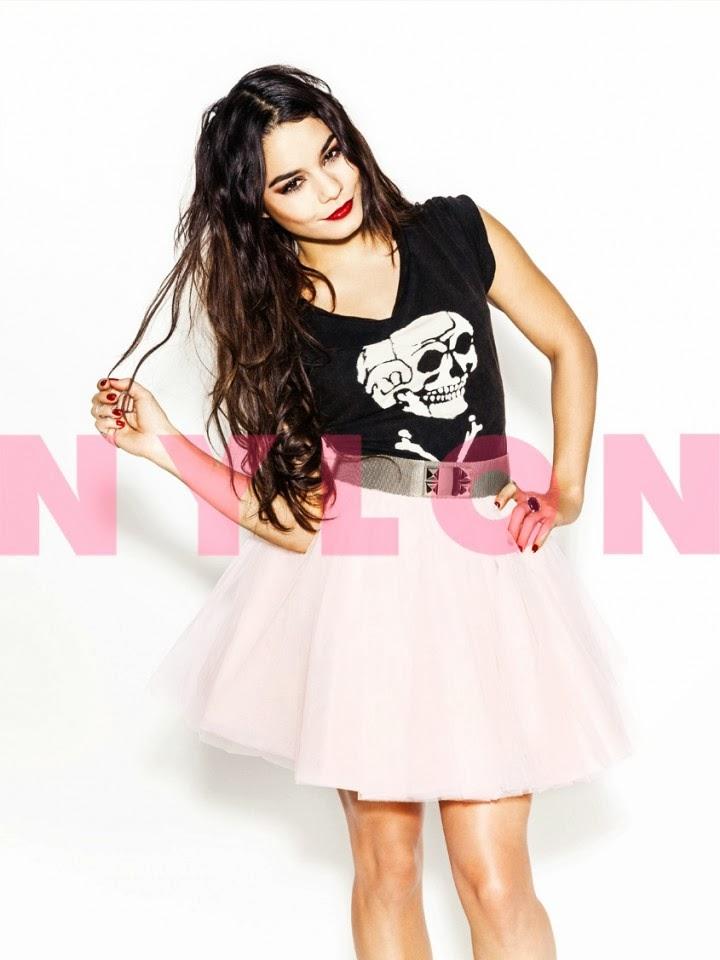 Magazine Photoshoot : Vanessa Hudgens Photoshoot For Nylon Magazine February 2014 Issue