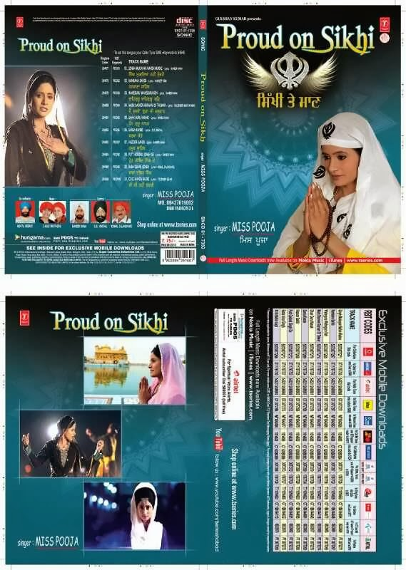 Miss Pooja - 'Proud On Sikhi De' Devotional Album