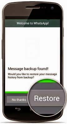 Cara Kembalikan Chat Whatsapp yang Terhapus di Android