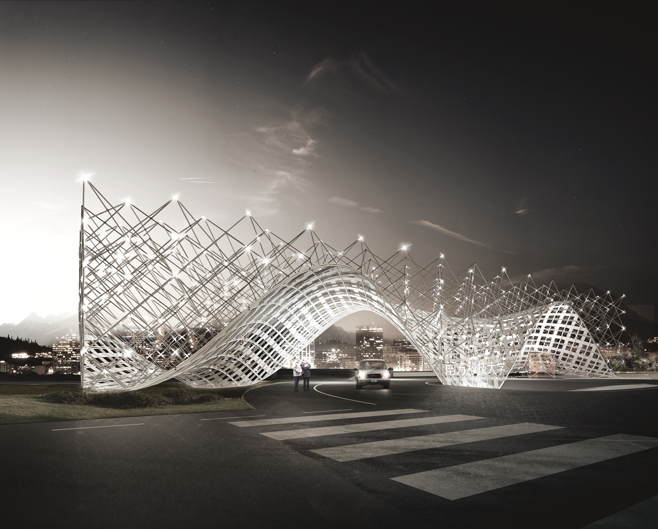 3d dreaming architecture from a digital point of view for Landmark design