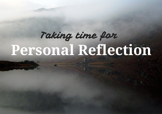 reflection of my personal talk Facilitating reflection  several people refuse to talk or participate  remember that you are a human being and entitled to your own personal likes and.