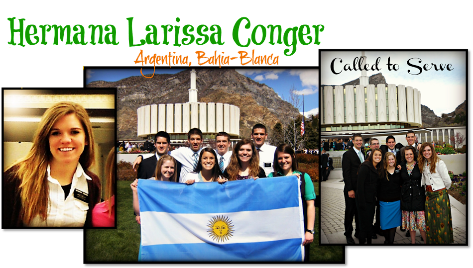 Larissa's Mission to Argentina