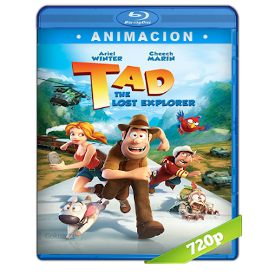 Tadeo Jones Y El Tesoro De Los Incas (2012) BRRip 720p Audio Trial Latino-Castellano-Ingles 5.1