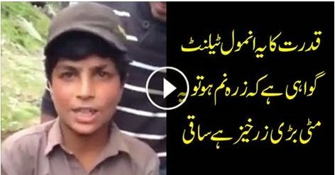 This is Real Talent of Pakistan Watch it, amazing talent, child, pakistani,