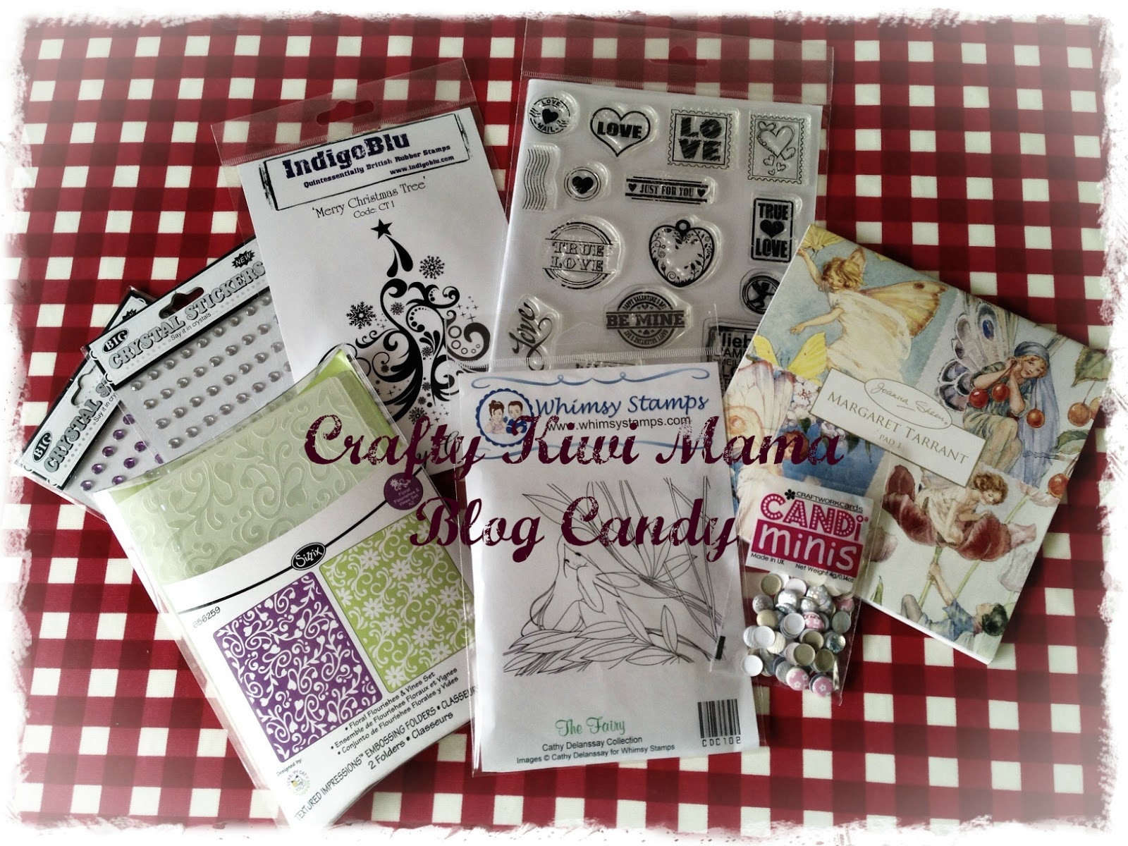 Crafty Kiwi Mama's Blogoversary Blogcandy