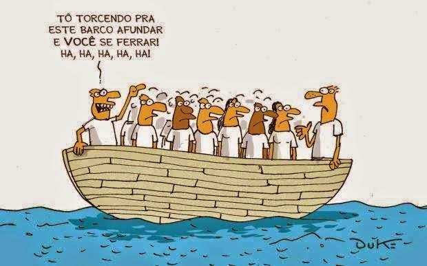 O resumo da crise brasileira em uma frase