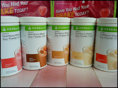 Fungsi Shake Herbalife