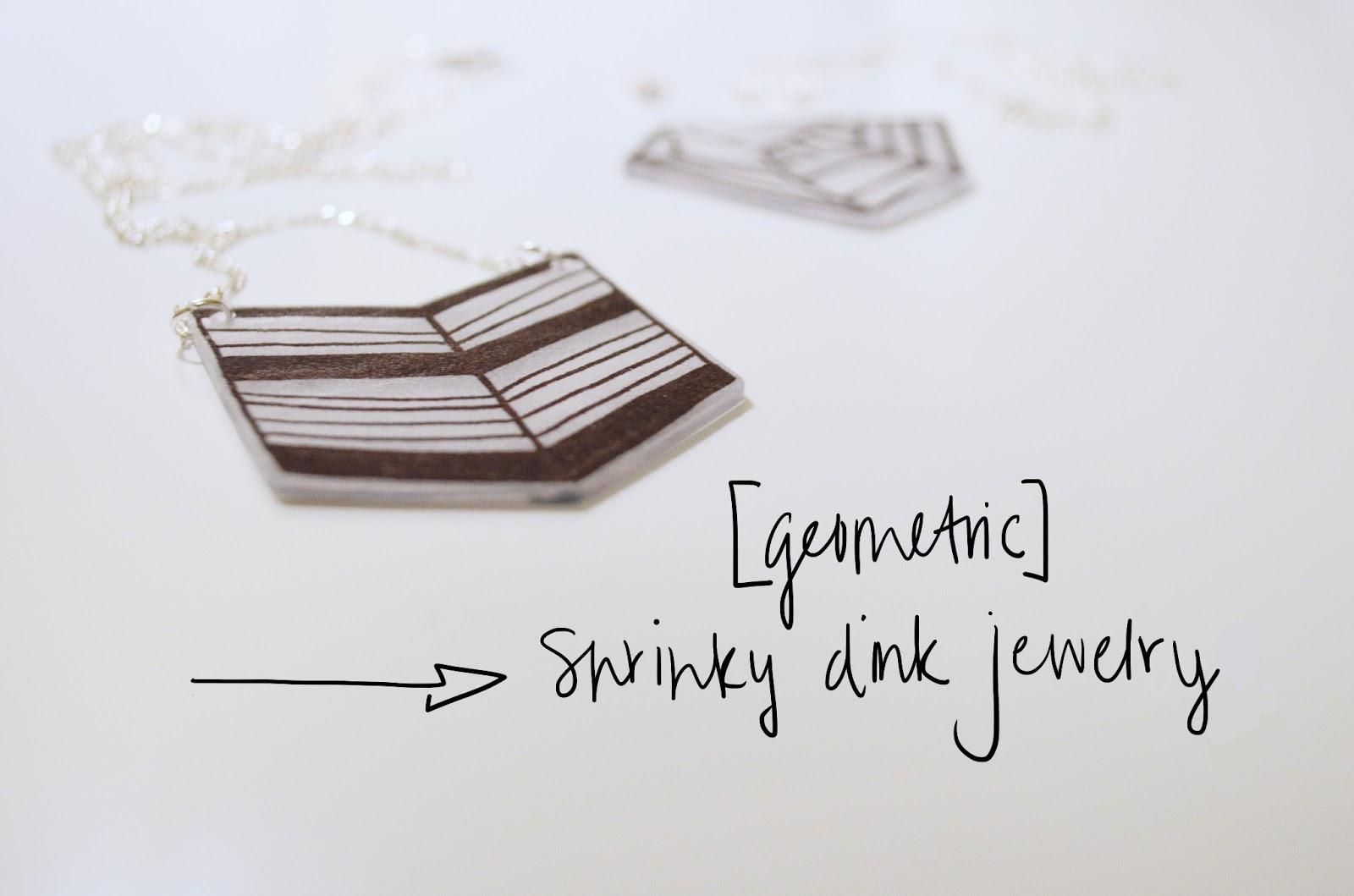Paper umbrella blog throwback diy shrinky dink jewelry