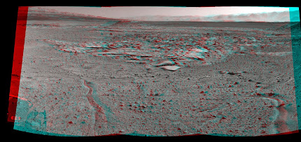 CURIOSITY MARS ROVER LOOKS INTO THE KIMBERLEY
