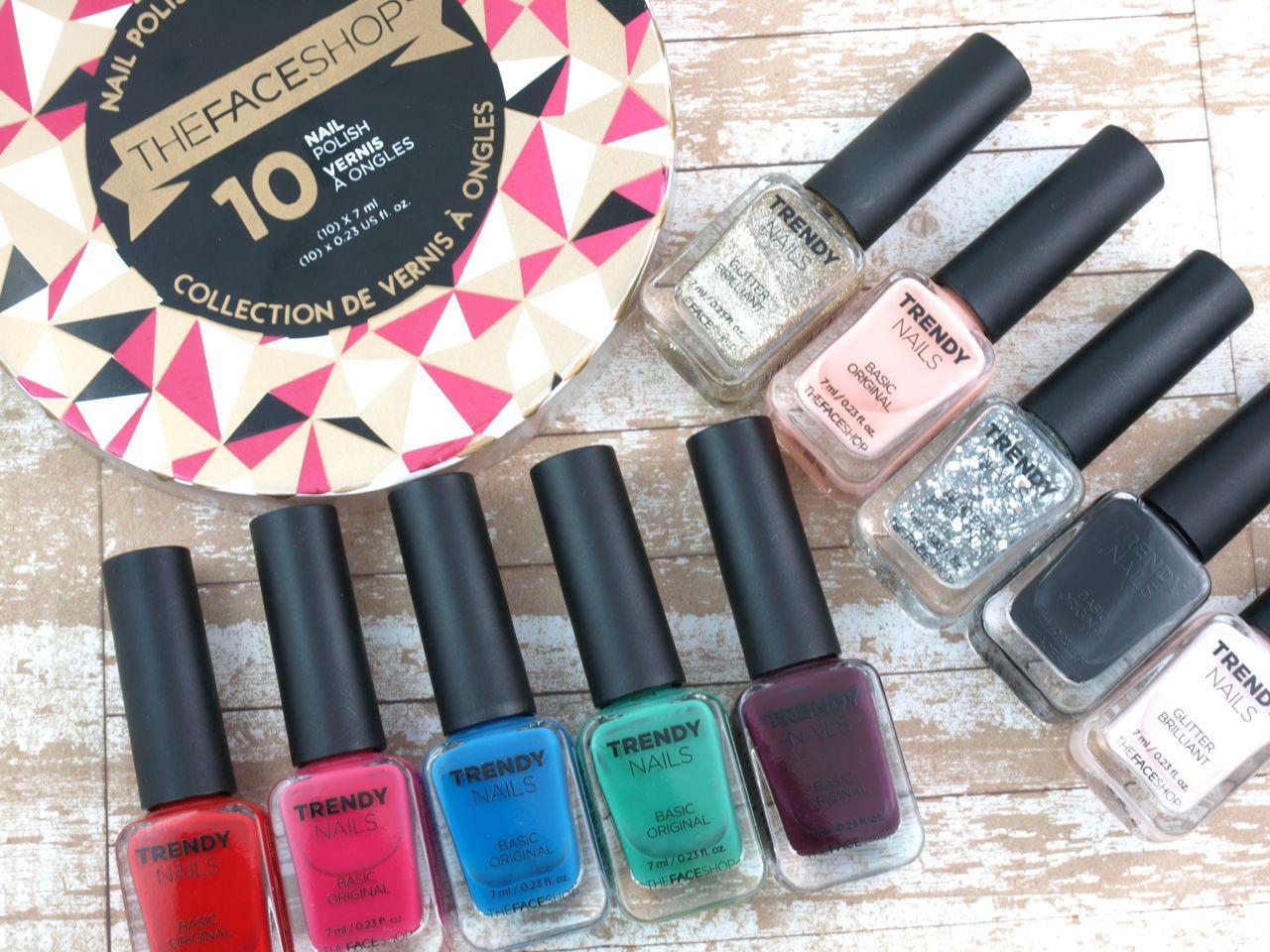 THEFACESHOP Holiday 2015 Trendy Nails Nail Polish Collection: Review ...