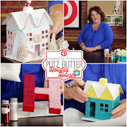 Glitter Putz Houses