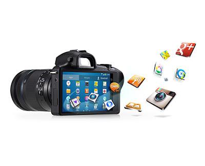 Samsung Galaxy NX (LTE) EK-GN120, Galaxy NX, Samsung Galaxy camera, Galaxy NX camera, interchangeable lens, 4G LTE camera
