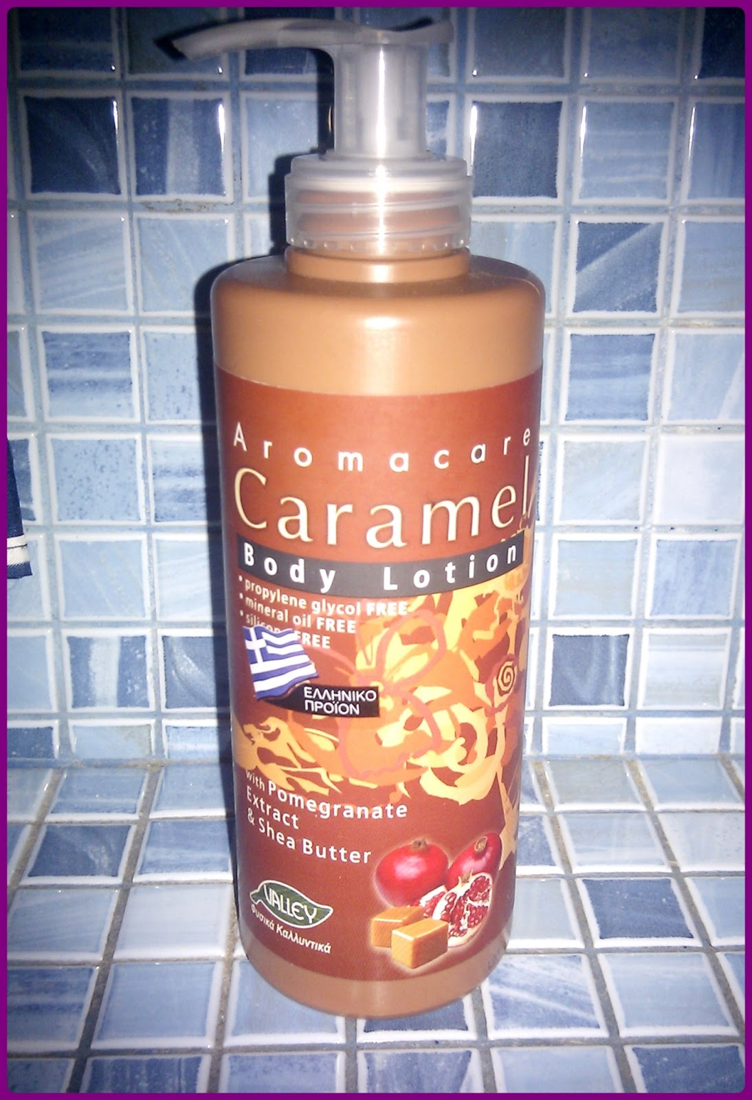 Valley Aromacare Caramel Body Lotion Καραμέλα