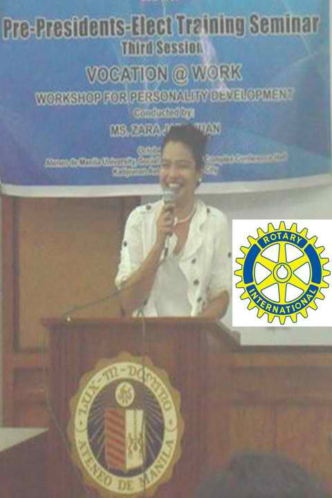 Rotary Club with Ambassador Zara Jane Juan