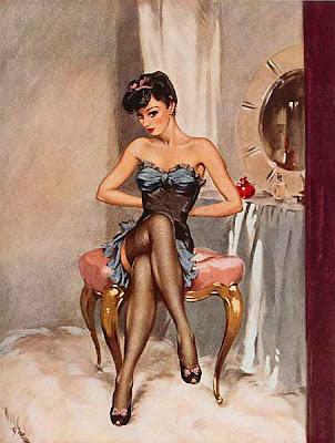 Lovelies Pin Up by David Wright