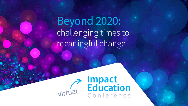 Impact Education Conference 2021 Presenter