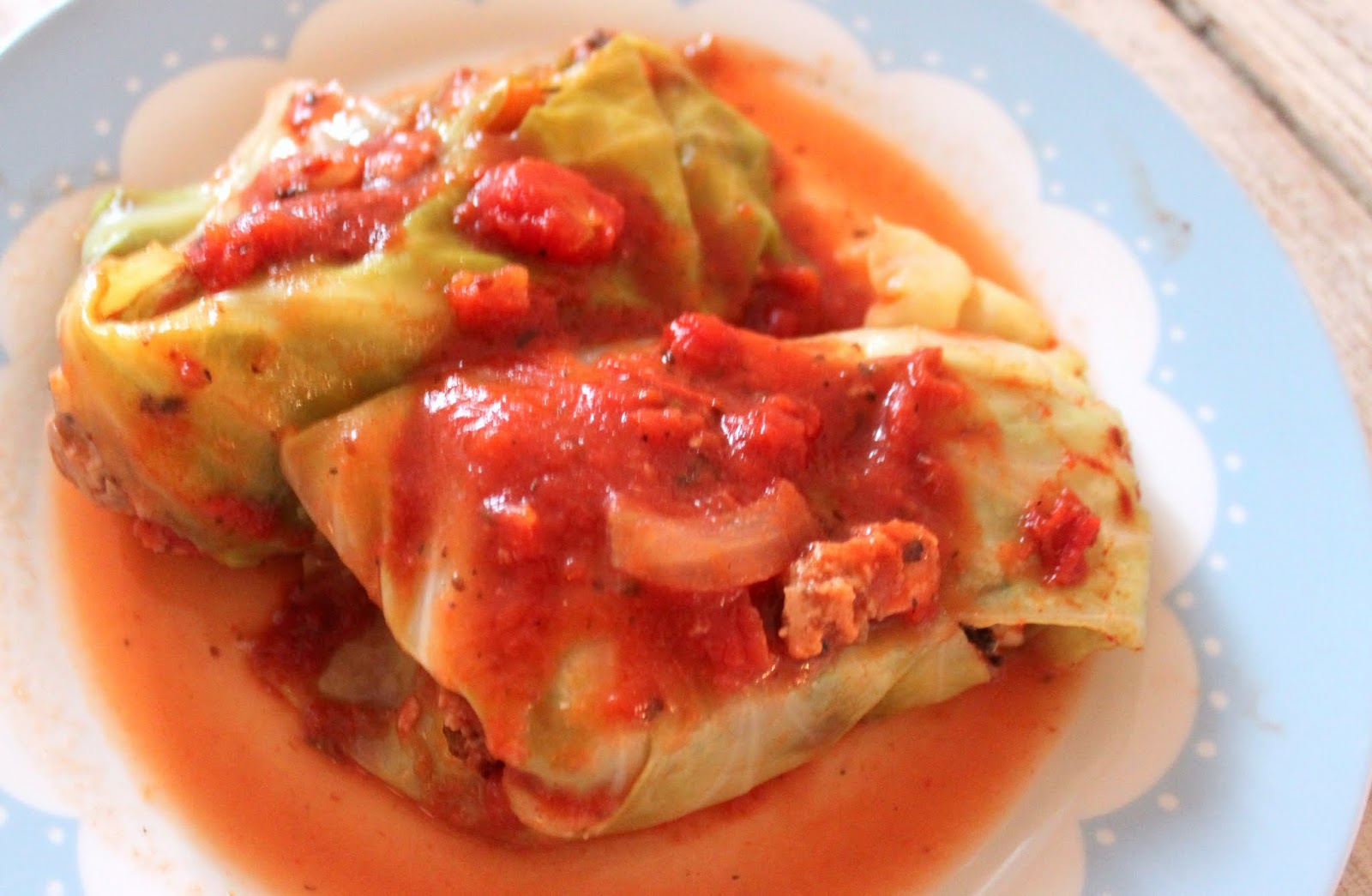 ... stuffed whole cabbage recipes dishmaps whole stuffed cabbage inspired