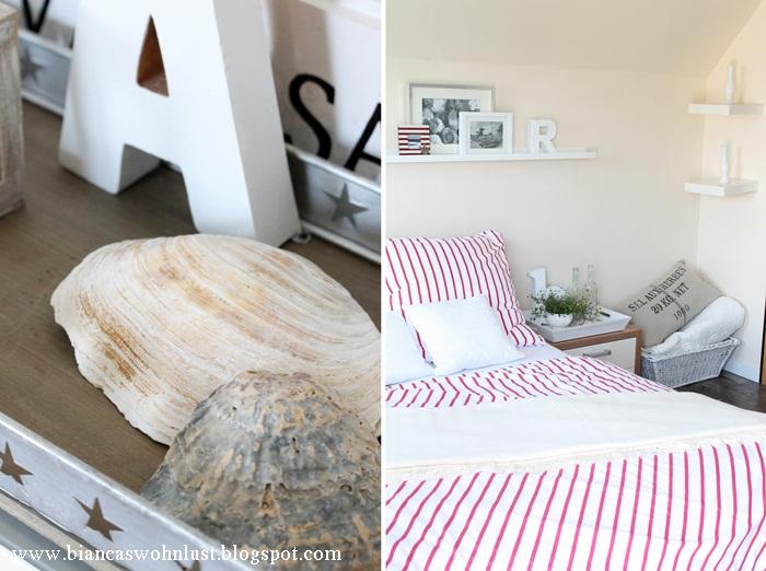 Wohnlust: Maritimes Schlafgemach Schlafzimmer Deko Maritim