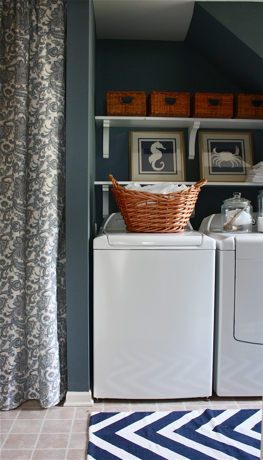 The Yellow Cape Cod My Laundry Room Reveal Win 1 000
