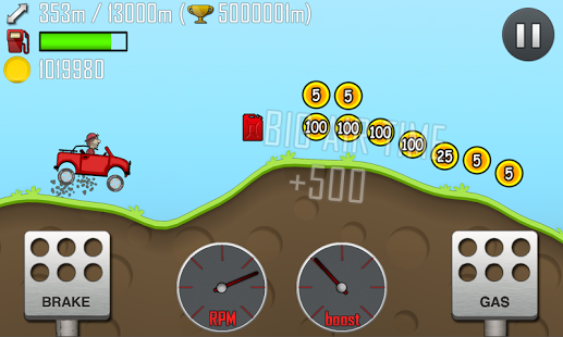 Games Android Hill Climb Racing yang Asik - 1
