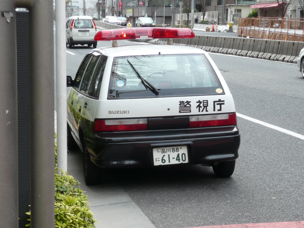 Suzuki Cultus Police, JDM, Japan, Japonia, Swift
