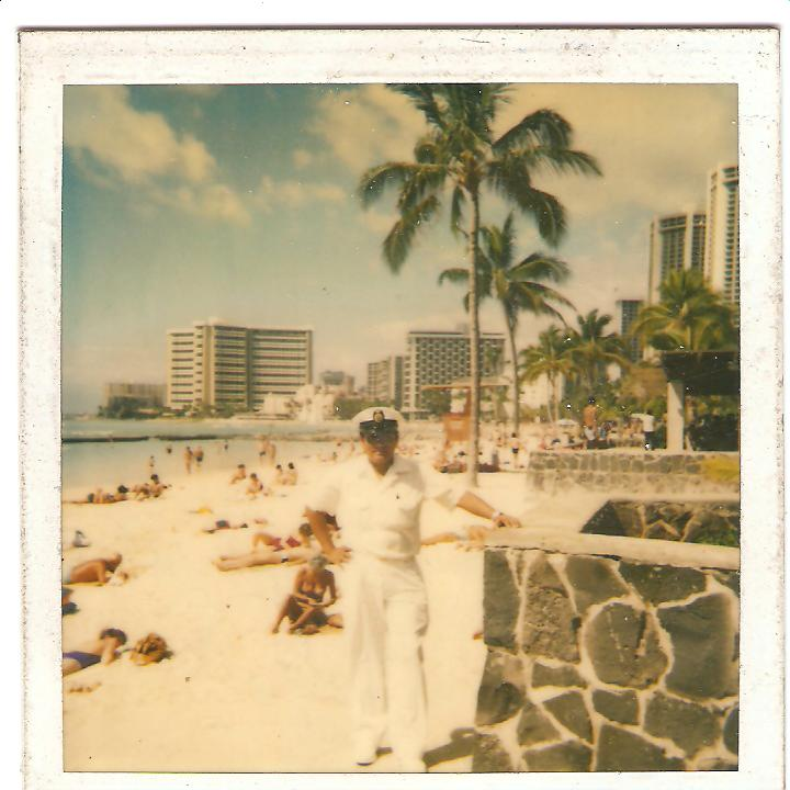 César Rivera - Hawaii - Honolulu. Año 1985