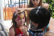 Gyermekarcfestés