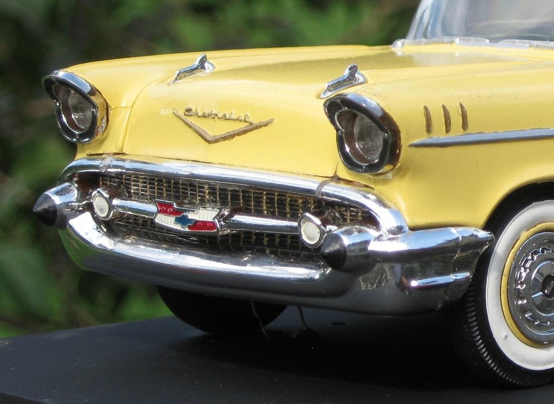 Jims Junk 1957 Chevy Bel Air 4 Door Sports Sedan Hardtop 1 25 Scale Model Revisited