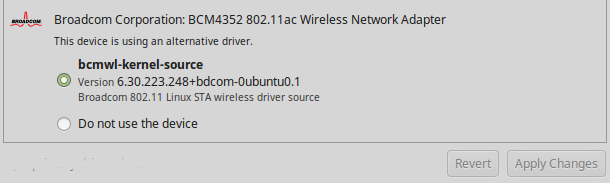 Install Broadcom BCM /bg Wireless LAN - Linux Mint Community