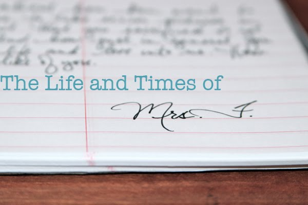 The Life and Times of Mrs. F.