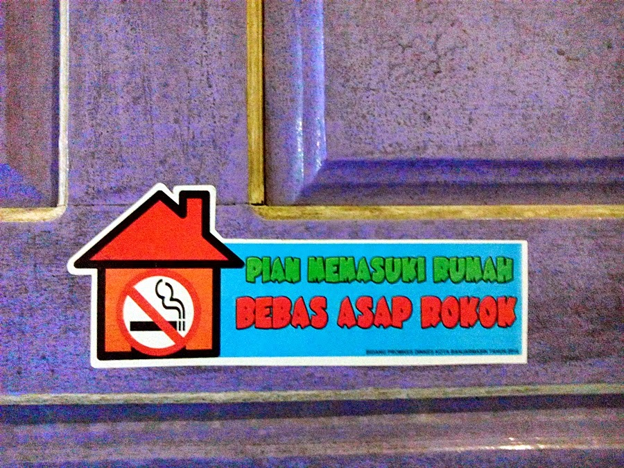 Rumah Bebas Asap Rokok