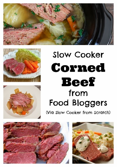 Recipe tips from food bloggers for perfect corned beef in the slow cooker!