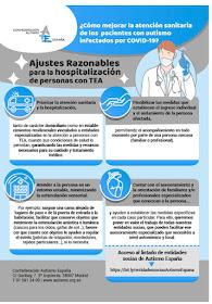 Ajustes razonables para la hospitalización de personas con TEA