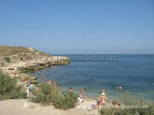 Plaže u Sevastopolju