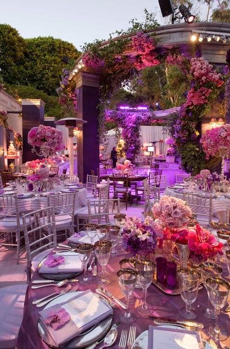 S N O B B Atlanta Wedding Blog Purple Passion