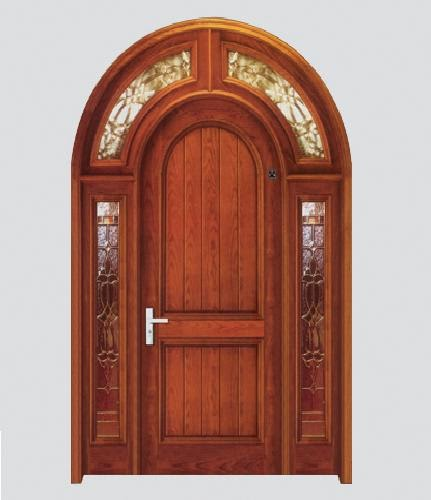Woodwork designs photo gallery wooden arch door frame for Arch door design