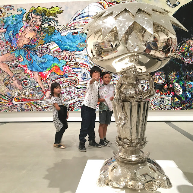 Murakami at The Broad Museum Los Angeles