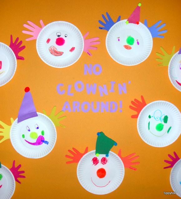 clown activities for preschoolers tippytoe crafts clowns 373