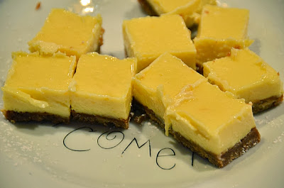 Lemon Icebox Squares