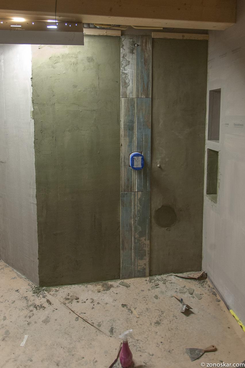Ons nieuwe huis meer coprox en tegels op de wc - Wc muur tegel ...