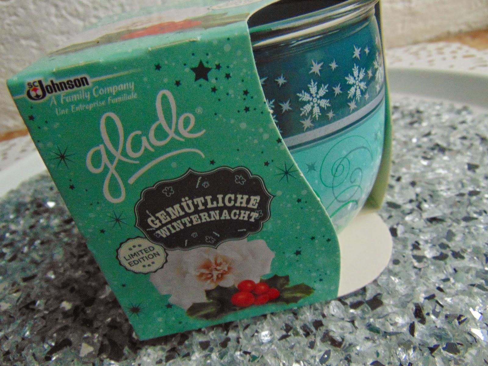 """Duftkerze """"Winter White"""" von Glade - www.annitschkasblog.de"""